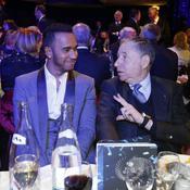 Jean Todt et Lewis Hamilton