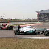 Hamilton et Räikkönen