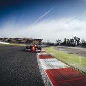 La nouvelle Ferrari vue du ras du sol