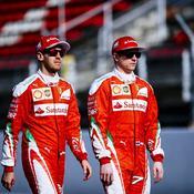 Sebastian Vettel et Kimi Raikkonen vont de nouveau faire la paire au sein de la Scuderia