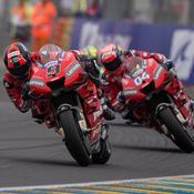 Les Ducati chez elles en Italie pour contrer Marquez