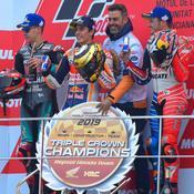 Marquez finit sur un succès, Quartararo sur une nouvelle 2e place