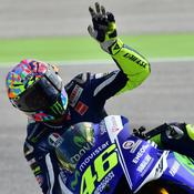 Rossi fait chuter Marquez