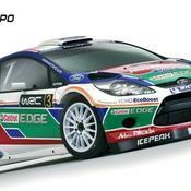 La Fiesta WRC en tenue de gala