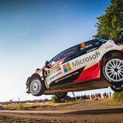 Rallye d'Allemagne : Tänak bien lancé, Neuville poursuivi par Ogier