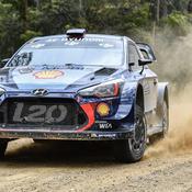 Rallye d'Australie : Neuville s'impose et termine vice-champion du monde derrière Ogier