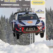 Rallye de Suède : Neuville creuse l'écart, Ogier distancé