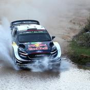 Rallye du Mexique : Ogier leader, Loeb déchante avec une crevaison