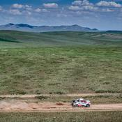 Nasser Al-Attiyah a surnagé lors de la troisième étape du Silk Way Rally 2019. (MCH Photo/Marian Chytka)