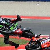 Crash en Superbike