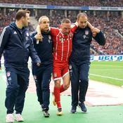 Frank Ribery blessé