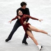 Tessa Virtue et Scott Moir