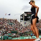 Mai 2008 - Maria Sharapova à Roland Garros
