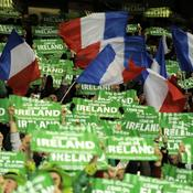 Irlande-France, supporters