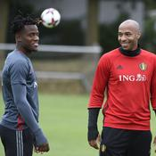 Thierry Henry et Michy Batshuayi