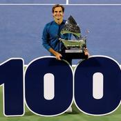 La 100e pour Federer