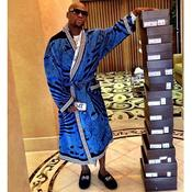 Floyd Mayweather et ses chaussures