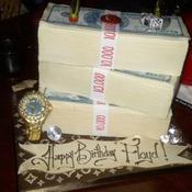 Le gâteau d'anniversaire de Mayweather