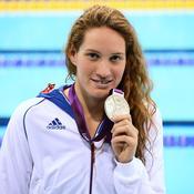 Camille Muffat a décroché la médaille de bronze dans la finale du 200 m, effaçant quelque peu sa déception sur 400 m.