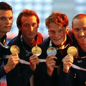 Florent Manaudou, Fabien Gilot, Yannick Agnel et Jeremy Stravius ont remporté cette finale sur le fil.