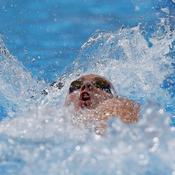 La championne olympique Camille Muffat abordait la finale du 400 m nage libre en favorite.