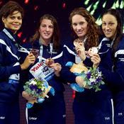 Le relais 4x200m féminin a décroché la médaille de bronze