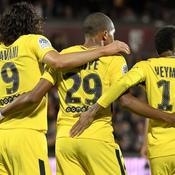 Cavani, MBappé, Neymar