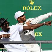 Hamilton et Bolt font le show