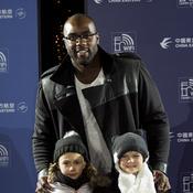 Avec deux enfants de l'Assocation Petits Princes