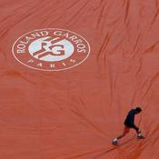 Un peu de pluie sur Roland-Garros