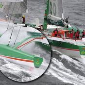 Une cloison de bras arrière bâbord avait cassé le lundi 16 novembre 2009