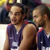 Joakim Noah et Tony Parker