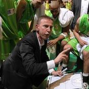 Vincent Collet avec l'ASVEL