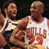 Kobe Bryant, Michael Jordan (All Star Game 1998)