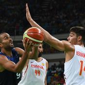 Parker contre l'Espagne à Rio 2016