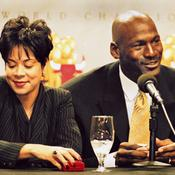 Michael Jordan et sa femme