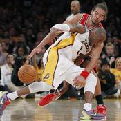 Kobe Bryant et Joakim Noah