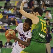 France-Brésil, Michael Gelabale