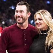 Le joueur des Detroit Tigers Justin Verlander et sa ravissante compagne, la modèle Kate Upton