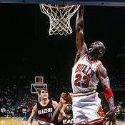 Michael Jordan dans ses oeuvres