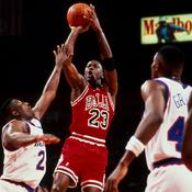 Michael Jordan en l'air