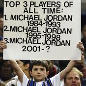 Michael Jordan fan