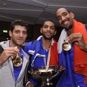 Antoine Diot Nicolas Batum Alexis Ajinça Basket Euro 2013