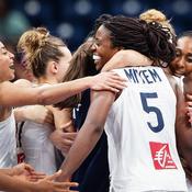 L'équipe de France de basket féminine