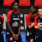 Céline Dumerc et les Bleues du basket