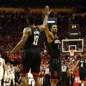 A une victoire de la finale NBA, Houston fait vaciller le trône de Golden State