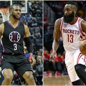 Avec un duo de feu Harden-Paul, les Rockets visent les étoiles