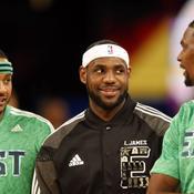 Carmelo Anthony, LeBron James et Chris Bosh