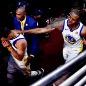 Andre Iguodala et Stephen Curry