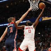 NBA: étincelant, James Harden a réglé sa mire à 59 points